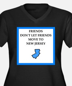 new jersey Plus Size T-Shirt