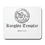 Knights Templar Ancient Seal Mousepad