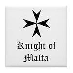 Knight of Malta Tile Coaster