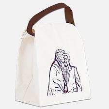 Cute Air kisses Canvas Lunch Bag