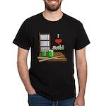 I Love Sushi Dark T-Shirt