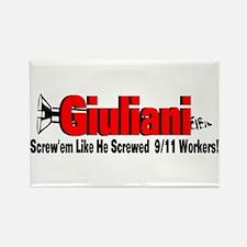 Screw Giuliani Rectangle Magnet