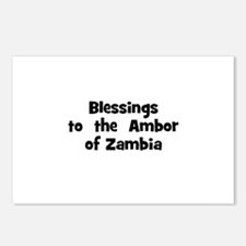 Blessings  to  the  Ambor of  Postcards (Package o