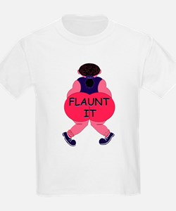 Flaunt It! Kids T-Shirt