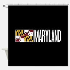 Maryland: Marylander Flag & Marylan Shower Curtain