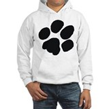 Pawprint Hooded Sweatshirt
