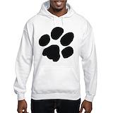 Pawprint Hooded Sweatshirt