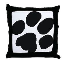 Pawprint Throw Pillow