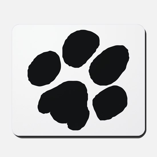 Pawprint Mousepad