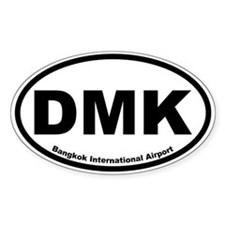 Bangkok International Airport Oval Decal
