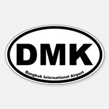 Bangkok International Airport Oval Decal