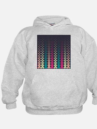 Geometric Pattern Hoodie
