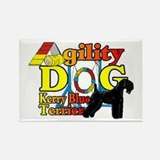 Kerry Blue Agility Rectangle Magnet (10 pack)