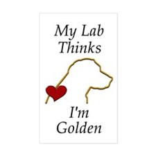 My (Golden) Lab... Decal