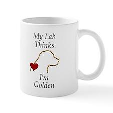My (Golden) Lab... Mug