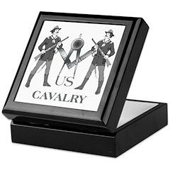 Masonic Cavalry Keepsake Box