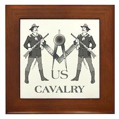 Masonic Cavalry Framed Tile