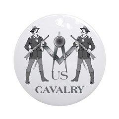 Masonic Cavalry Ornament (Round)