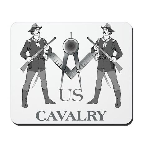 Masonic Cavalry Mousepad
