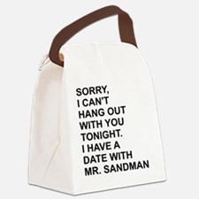 Funny Dating Canvas Lunch Bag