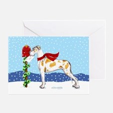 Great Dane FawnQ UC Mail Greeting Card