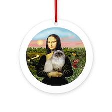Mona's Himalayan cat (1) Ornament (Round)