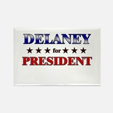 DELANEY for president Rectangle Magnet