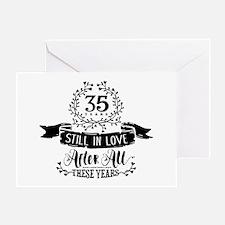 35th Anniversary Greeting Card