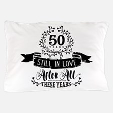50th Anniversary Pillow Case