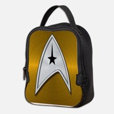 STARTREK TOS CMD METAL 2 Neoprene Lunch Bag