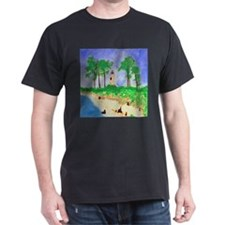 Madisonville Lighthouse Paint T-Shirt