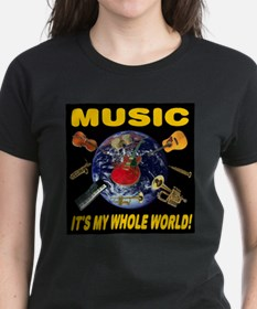 Music Instruments In Space 20 Tee