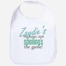 Zaydie's the Name! Bib