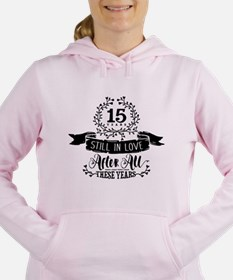 15th Anniversary Women's Hooded Sweatshirt