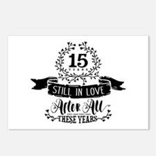 15th Anniversary Postcards (Package of 8)