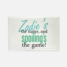 Zadie's the Name! Rectangle Magnet