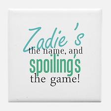 Zadie's the Name! Tile Coaster