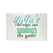 YiaYia's the Name! Rectangle Magnet (100 pack)