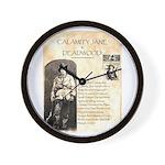 Calimity Jane Wall Clock