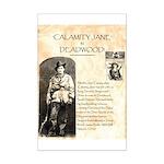 Calimity Jane Mini Poster Print