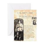 Calimity Jane Greeting Card