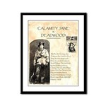 Calimity Jane Framed Panel Print