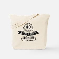 40th Anniversary Tote Bag
