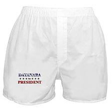 DAYANARA for president Boxer Shorts