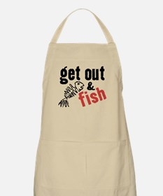 Get Out & Fish BBQ Apron