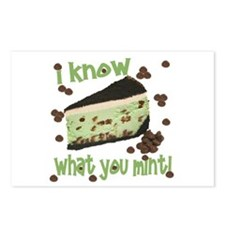 I Know What You Mint! Postcards (Package of 8)