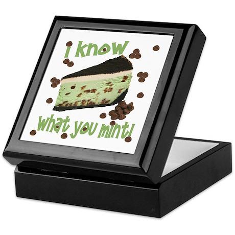 I Know What You Mint! Keepsake Box