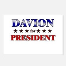 DAVION for president Postcards (Package of 8)