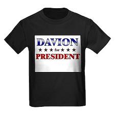DAVION for president T