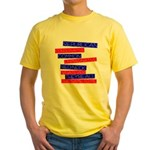 Anti-Republican Yellow T-Shirt